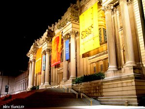 Metropolitan Museum of Art at Night Photo