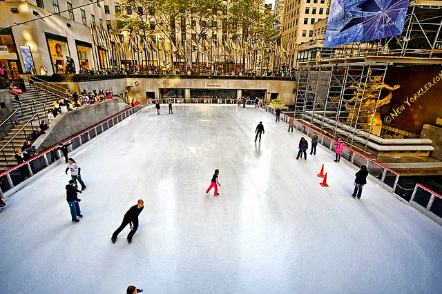 Rink at Rockefeller Center 2019-20 Season + Photos from past Seasons