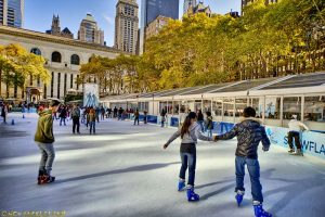 College Skate Nights at The Rink at Bryant Park @ New York | New York | United States