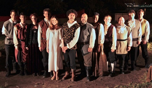The cast members of a previous year's performance of Orthello.