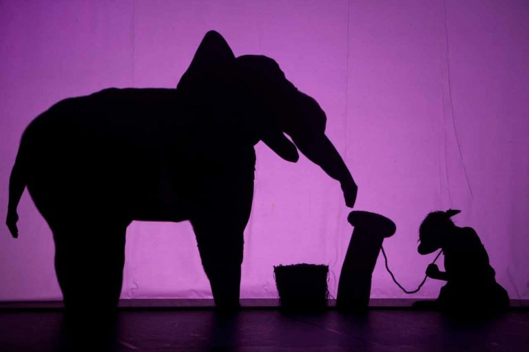 Pilobolus's Shadowland at the NYU Skirball Center for the Performing Arts