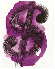 Warhol - Money on the Wall