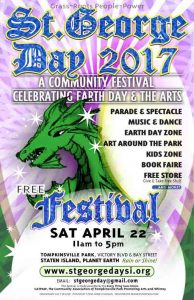 St. George Day Festival :: Earth Day and Arts Celebrating Community …and Dragons @ New York | United States