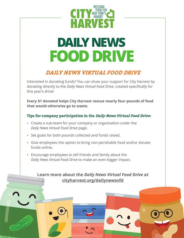 2019 Daily News Virtual Food Drive