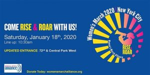 Women's March on NYC 2020 - Central Park West