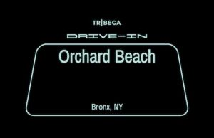 Tribeca Drive-In's ACTUAL DRIVE IN at the Bronx' Orchard Beach - FREE FILMS