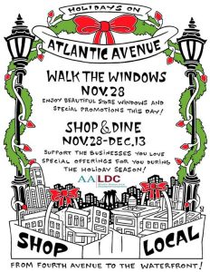 Brooklyn's Atlantic Avenue Annual Holiday Walk the Windows @ Atlantic Avenue from 4th Ave to waterfront, Brooklyn