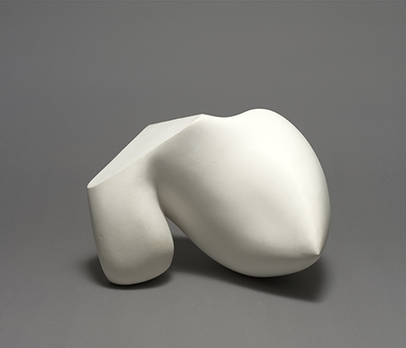 NEW HARMONY: ABSTRACTION BETWEEN THE WARS, 1919-1939 Jean Arp  b. 1886, Strassburg, Germany; d. 1966, Basel Shell Crystal (Coquille-cristal), 1938 Plaster with paint, 26.7 x 37.2 x 38.9 cm Solomon R. Guggenheim Museum, New York, Gift, Mrs. Jean Arp © 2013 Artists Rights Society (ARS), New York/VG Bild-Kunst, Bonn Photo: Kathryn Carr